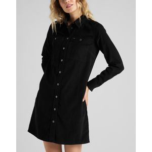 Lee  WORKSHIRT DRESS BLACK
