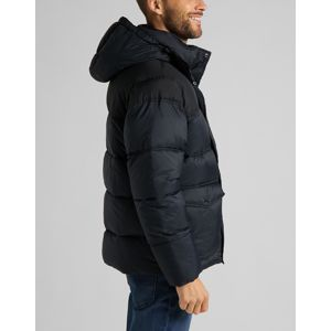 Lee pánská bunda  PUFFER JACKET BLACK